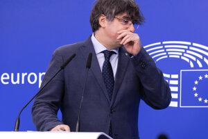 Bývalý katalánsky líder Carles Puigdemont.