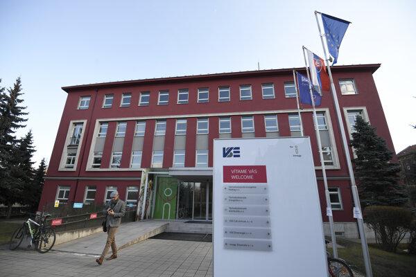 Budova VSE Holding, a. s. v Košiciach 12. marca 2019.