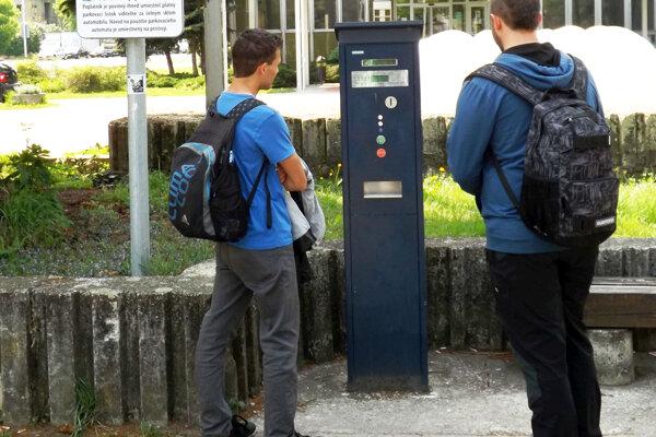 V meste vymenia parkovacie automaty.