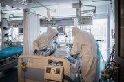 Priemerná úmrtnosť na umelej pľúcnej ventilácii bola počas druhej vlny pandémie koronavírusu takmer 21 percent.