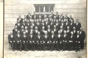 Rok 1931, Trenčianske Teplice.