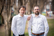 Zakladatelia Capturing Reality (zľava): Martin Bujňák a Michal Jančošek