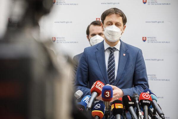 Dočasný minister zdravotníctva Eduard Heger.