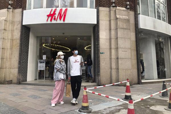 H&M zmizlo v Číne z internetových obchodov aj z máp.