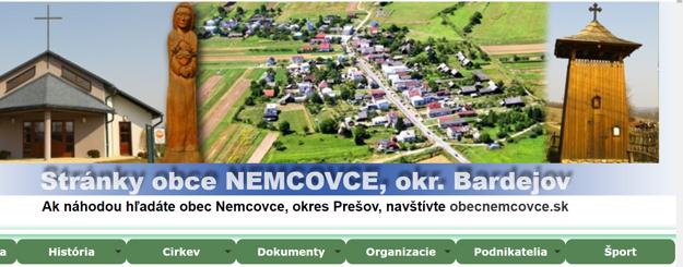 Web obce Nemcovce v okrese Bardejov upozorňuje, že kto hľadá web obce Nemcovce v okrese Prešov, tak ten je na zlej adrese.