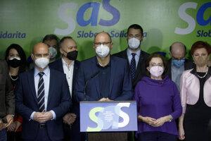 Strana SaS je pripravená pokračovať vo vláde Eduarda Hegera.