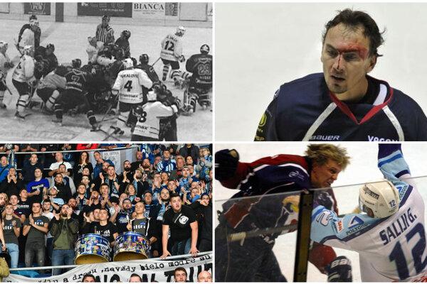 Tvrdé päste, krásny hokej, strhujúca atmosféra. Zápasy Nitry so Slovanom vždy patrili k extraligovým špecialitkám.