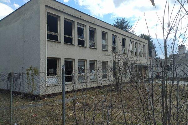 Bývalá škôlka na Malonecpalskej ulici v Prievidzi.