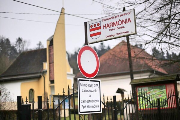 Zariadenie pre seniorov Harmónia v Prešove.