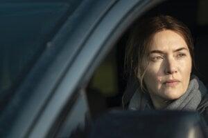 Kate Winslet v seriáli Mare z Easttownu.