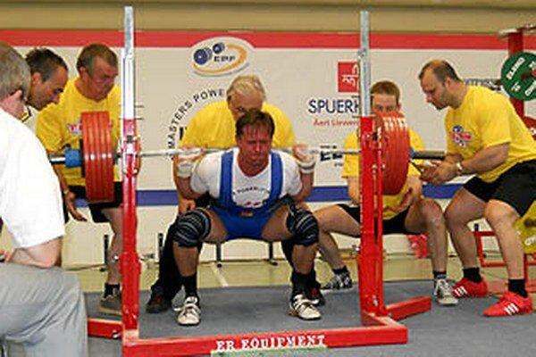 Pavol Slíž vybojoval dve medaily.
