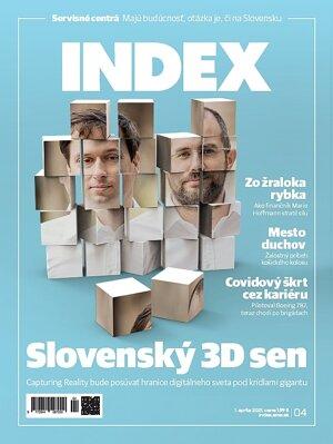 Článok nájdete aj v aprílovom vydaní mesačníka INDEX.