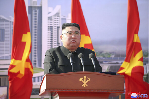 Severokórejský diktátor Kim Čong-un.