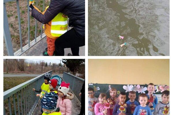 Deti v Lučenci vynášali Morenu (bohyňu zimy) aspoň symbolicky. Veria, že o rok už bude vítanie jari veselšie.