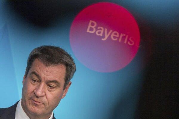 Premiér nemeckej spolkovej krajiny Bavorsko Markus Söder.