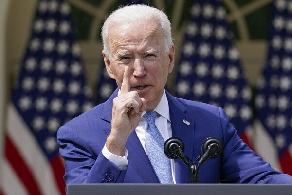 Americký demokratický prezident Joe Biden.