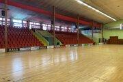 Športová hala v Partizánskom.