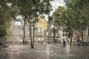 Novú podobu Námestia Nežnej revolúcie určila architektonická súťaž. Jej víťazom sa stal návrh od nemeckých architektov LOIDL.