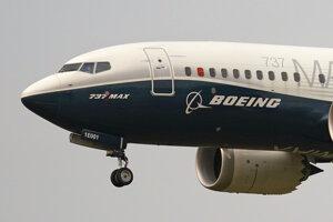Boeing 737 MAX. Ilustračná fotografia.