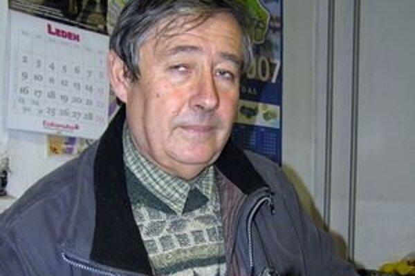 Riaditeľ Záhradníckych služieb mesta Zlaté Moravce Marián Tomajko.