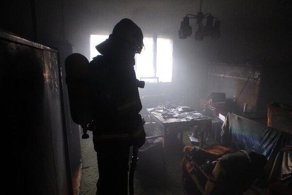 Požiar rodinného domu vo Farnej.