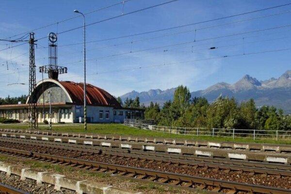 Stanica vo Svite sa rekonštruuje zároveň so železničnou traťou.