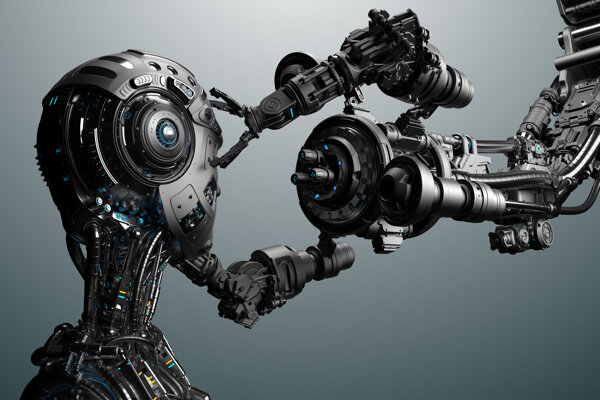 Najvýhodnejšie by bolo, keby sa roboty naučili zostrojovať ďalšie roboty.
