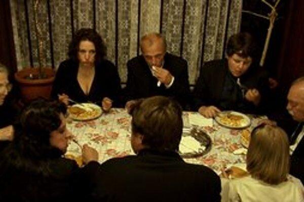 Záber z nového slovenského filmu Ďakujem, dobre.