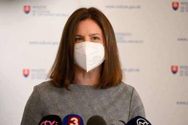 Ministerka kultúry Natália Milanová.