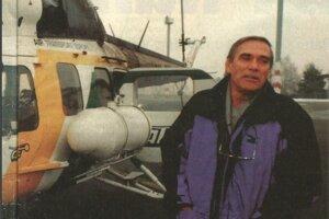 Stanislav Hradský bol na slovenských letiskách ako doma.