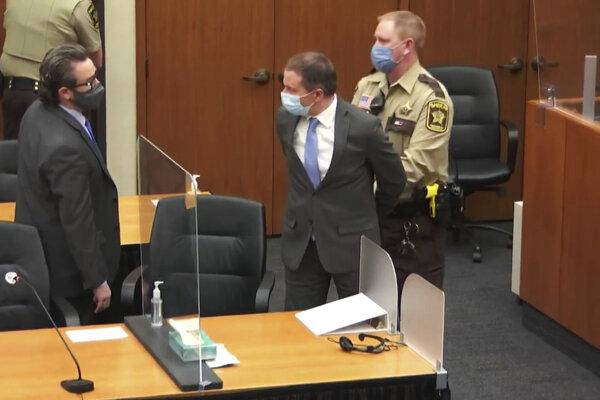 Bývalý americký expolicajt Derek Chauvin.