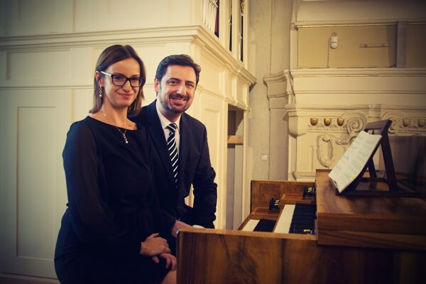 Marieta Puhovichová aMarek Vrábel.