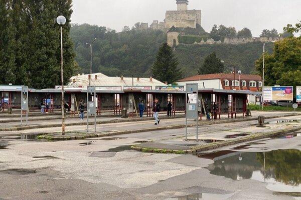 Autobusová stanica v Trenčíne
