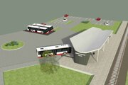 Vizualizácia budúcej stanice.