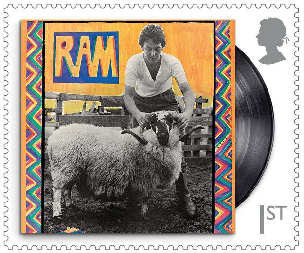 Špeciálna séria známok na počet Paula McCartneyho.