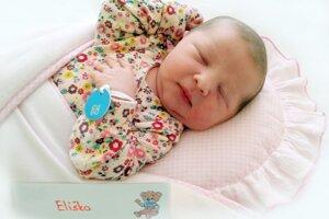 Eliška Chabenová z Lazian sa narodila 6.5.2021 v Bojniciach