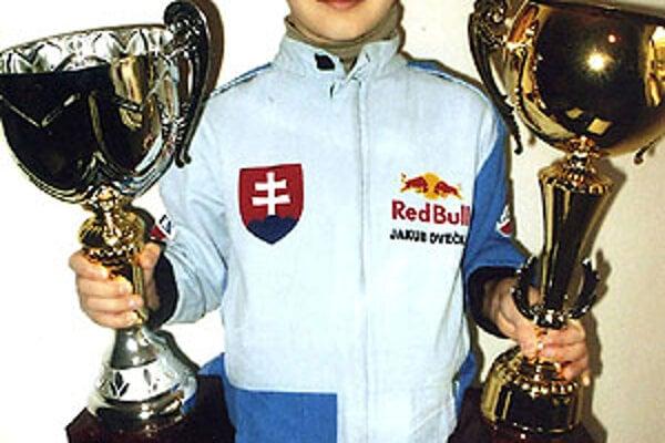 Jakub Ovečka má za sebou vydarenú sezónu.