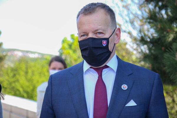 Predseda hnutia Sme rodina a Národnej rady SR Boris Kollár.