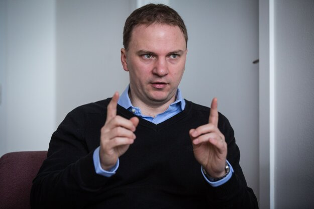 Ekonóm Martin Kahanec.