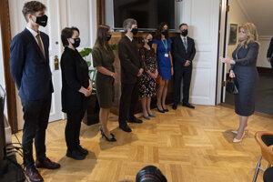 Zuzana Čaputová v Dánsku navštívila aj Európsku enviromentálnu agentúru a stretla sa s jej zamestnancami.