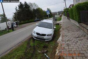 Za volantom sedel 37-ročný muž z okresu Michalovce.