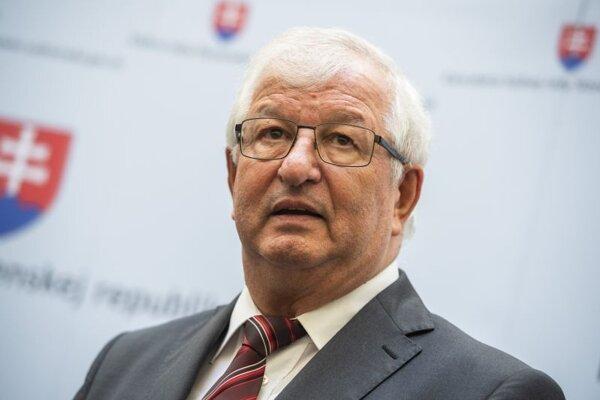 Ján Mazák, predseda Súdnej rady SR.