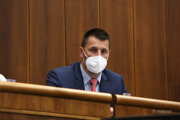 Poslanec za stranu SaS Marián Viskupič v parlamente. SaS zrýchlené konanie v tomto prípade nepodporí.