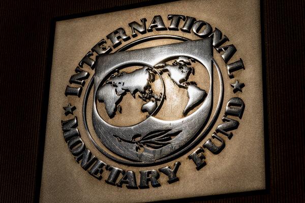Logo Medzinárodného menového fondu.