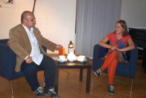 Besedu s Alexandrou Salmela moderoval Dado Nagy.
