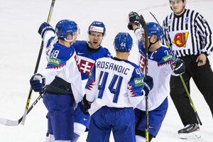 Slovensko na MS v hokeji 2021.