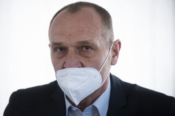 Śéf Národného centra zdravotníckych informácií (NCZI) Pavol Capek.