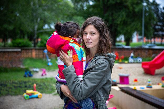 Veronika Dianišková s dcérou