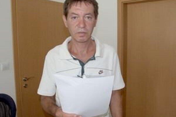 Ľudovít Karvai získal odpis z registra zo súdneho spisu.
