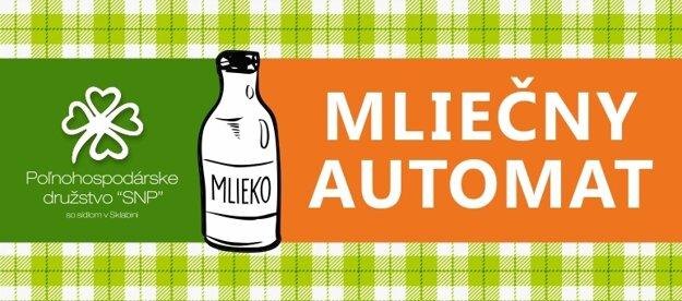 Náš mliečny automat nájdete na Ul. P. Mudroňa 44 pri OC Galéria v Martine.